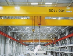Europe type double beam bridge crane