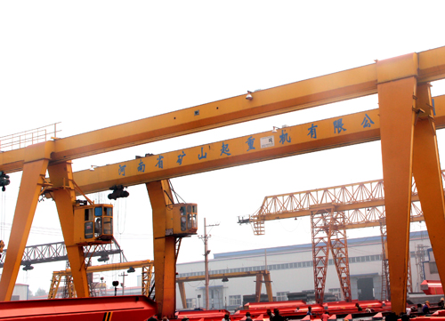 MH electric hoist gantry crane (box type)