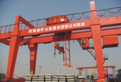 T U 10-35/10 double beam hook gantry crane