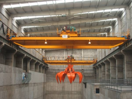 QZ type grab bridge crane